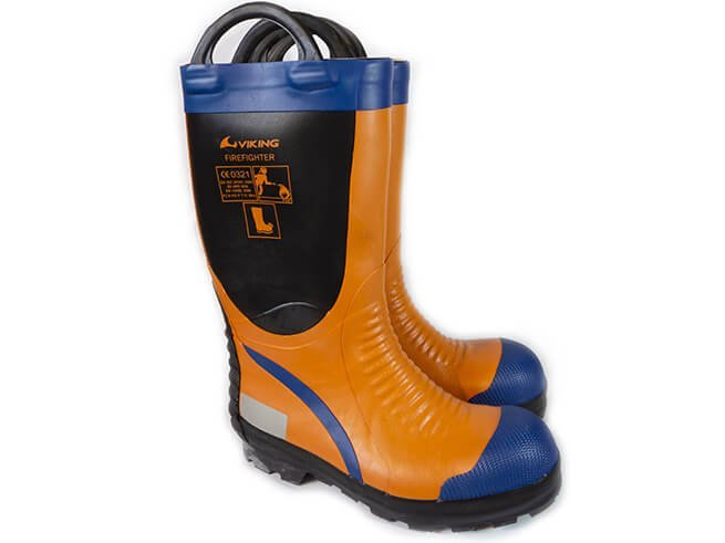 Bota Bombero goma agua VIKING® Naranja -169310